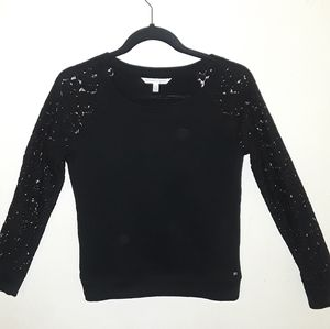 Victoria Secret lace sleeved top